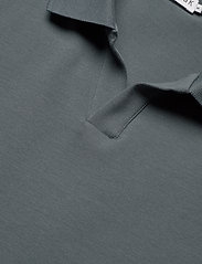 Filippa K - M. Lycra Polo T-Shirt - kortermede - charcoal b - 2