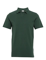M. Lycra Polo T-Shirt - FERN