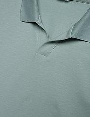 Filippa K - M. Lycra Polo T-Shirt - korte mouwen - mint powde - 2