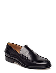 M. Leather Loafer - SHINY BLAC