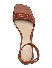 Belinda Mid Heel Sandal
