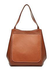 Shelby Bucket Mix Leather Bag