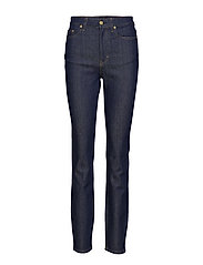Vicky Raw Jean - DARK BLUE