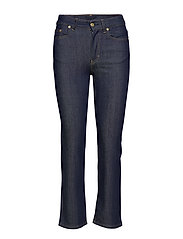 Stella Raw Jean - DARK BLUE