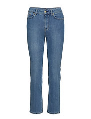 Stella Washed Jean - MID BLUE