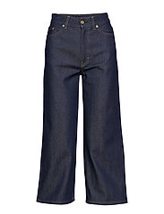 Laurie Raw Jean - DARK BLUE