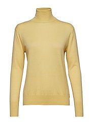 Silk Mix Roller neck Sweater - WAX