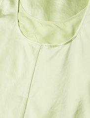 Filippa K - Long Satin Slip dress - kveldskjoler - pale lime - 3