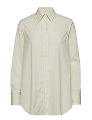 Indra Cotton Silk Shirt - OFF WHITE/