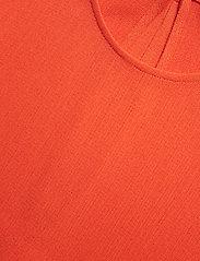 Filippa K - Mesh Tee - t-shirts - tangerine - 2