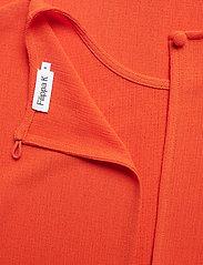 Filippa K - Mesh Tee - t-shirts - tangerine - 3