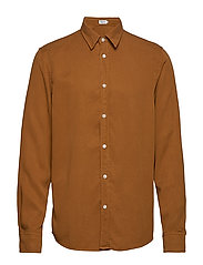 M. Ben Tencel Shirt - DARK OCHRE