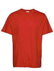 M. Single Jersey Tee - RED ORANGE