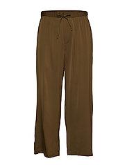 Silk Trouser - HIKE GREEN