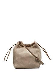 Lena Soft Bucket Bag - LIGHT TAUP