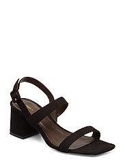 Anna Slingback Sandal Sandal Med Hæl Svart FILIPPA K
