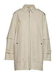 Filippa K Tribeca Coat - IVORY