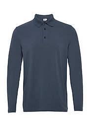 M. Luke Lycra Polo Shirt - BLUE GREY