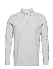 M. Luke Lycra Polo Shirt - LIGHT GREY