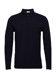 M. Luke Lycra Polo Shirt - NAVY