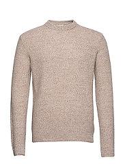 M. Tobias Sweater - KHAKI BEIG