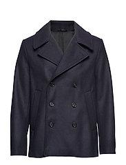 M. Hague Pea Coat - BLUE BLACK
