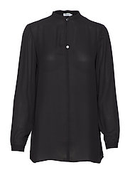 Ada Tunic Blouse - BLACK