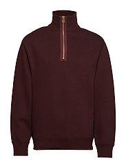 M. Miles Zip Sweatshirt - DEEP SHIRA