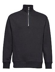 M. Miles Zip Sweatshirt - INK GREY