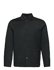 M. Louis Gabardine Jacket - DARK SPRUC