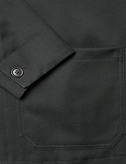 Filippa K - M. Louis Gabardine Jacket - overshirts - dark spruc - 3