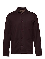 M. Louis Gabardine Jacket - DEEP SHIRA