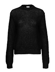 Heather Sweater - BLACK