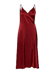 Callie Dress - PURE RED
