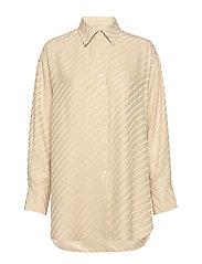 Nina Silk Shirt - ECRU