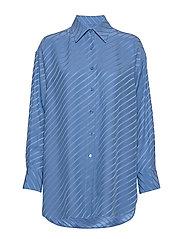 Nina Silk Shirt - SAPPHIRE B