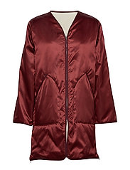 York Coat - PURE RED