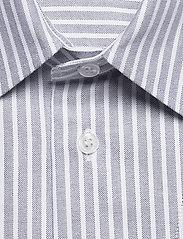 Filippa K - M. Zach Striped Overshirt - overshirts - blue grey/ - 2