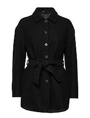 Lima Coat - BLACK