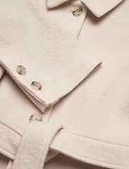 Filippa K - Lima Coat - ullkappor - ivory - 2