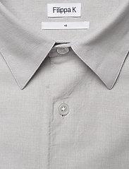 Filippa K - M. Lewis Linen Shirt - basic overhemden - sterling g - 2