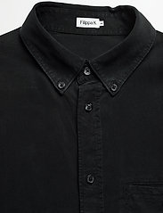 Filippa K - M. Zachary Tencel Shirt - basic overhemden - almost bla - 3