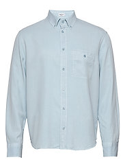 M. Zachary Tencel Shirt - PALE BLUE