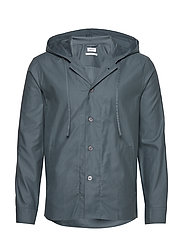 M. Kit Hooded Jacket - CHARCOAL B