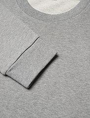 Filippa K - M. Felix Sweater - basic sweatshirts - grey melan - 3