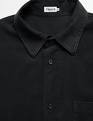 Filippa K - M. Owen Tencel Shirt - chemises basiques - almost bla - 3