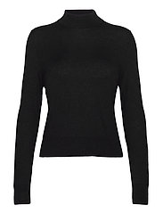 Lynn Silk Mix Sweater - BLACK