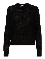 Helen Mohair Sweater - BLACK