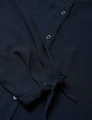 Filippa K - Gia Blouse - långärmade blusar - dark blue - 2