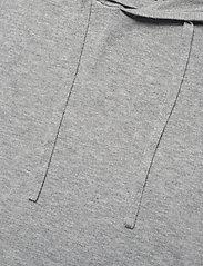 Filippa K - M. Arthur Knitted Hoodie - hoodies - light grey - 2